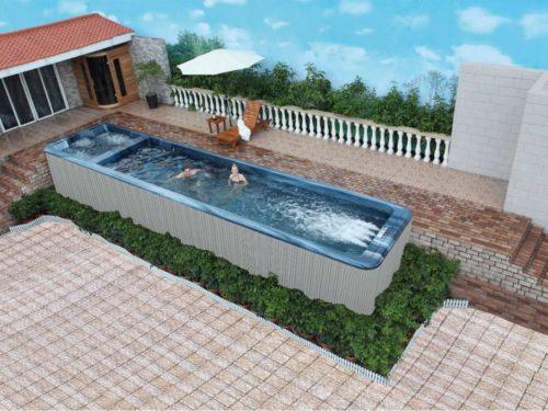 SPA DE NAGE AVERLORN 12M – 6 places
